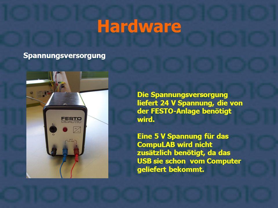 Hardware Spannungsversorgung