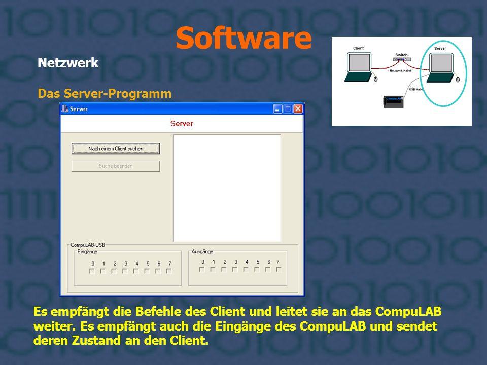Software Netzwerk Das Server-Programm