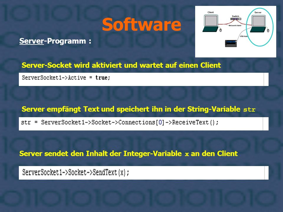 Software Server-Programm :