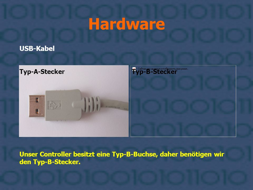 Hardware USB-Kabel Typ-A-Stecker Typ-B-Stecker