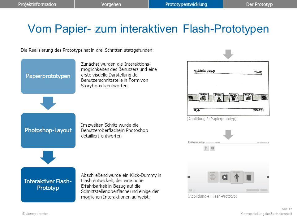 Vom Papier- zum interaktiven Flash-Prototypen