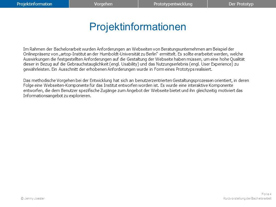 Projektinformationen