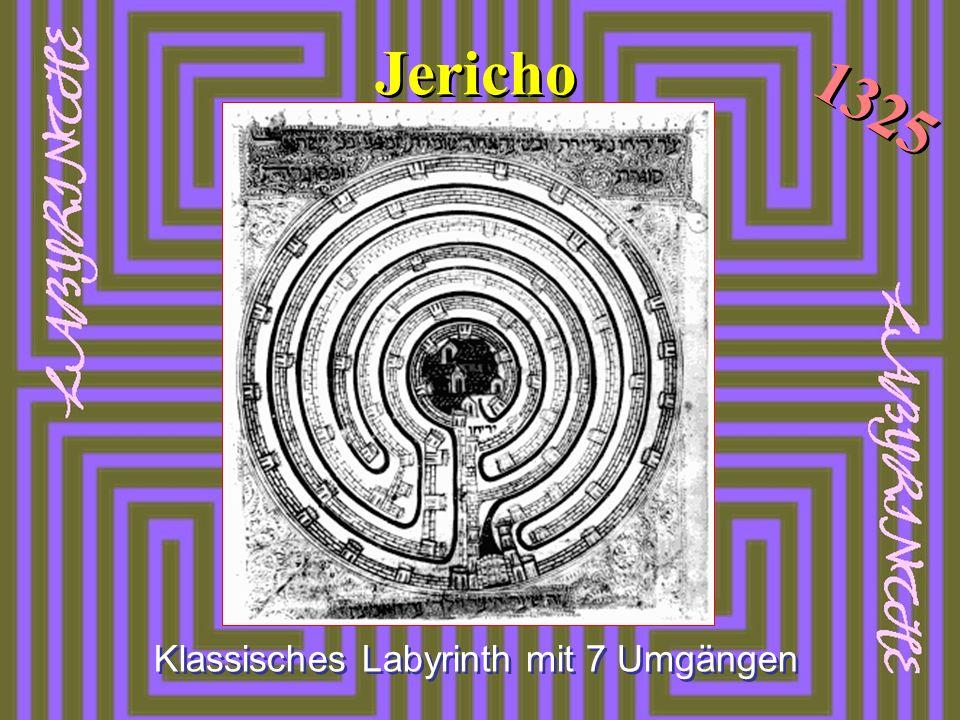 Klassisches Labyrinth mit 7 Umgängen