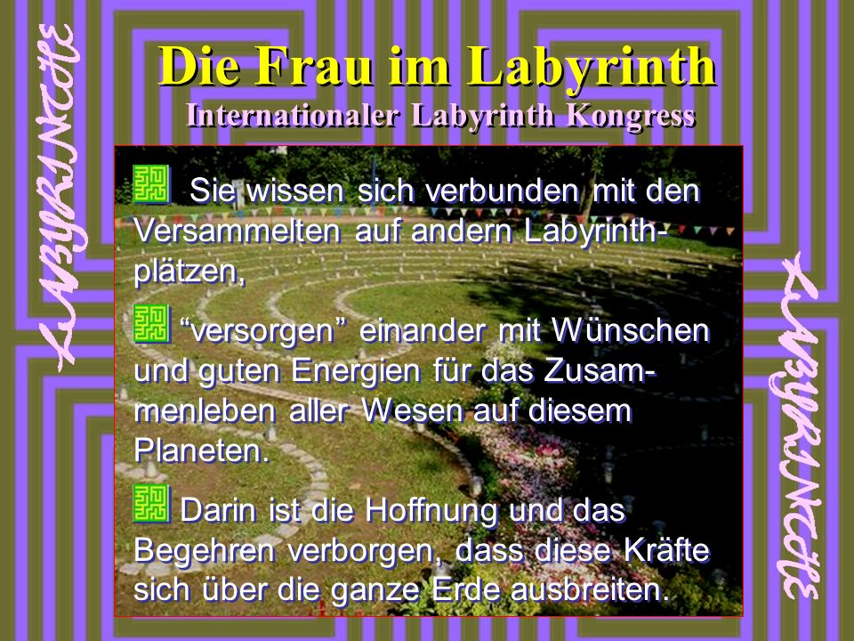 Internationaler Labyrinth Kongress