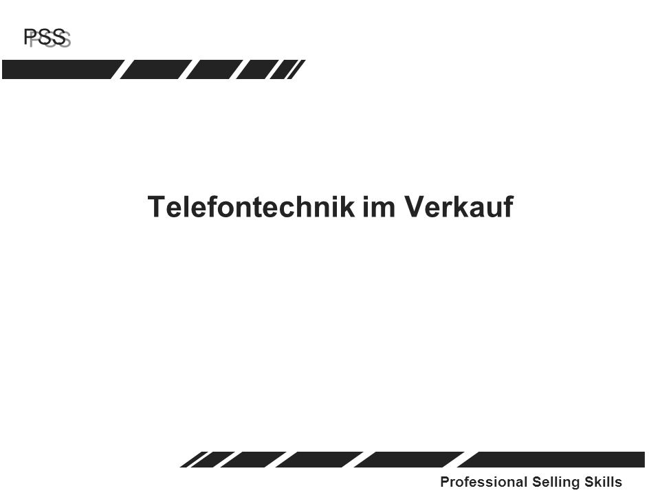 Telefontechnik im Verkauf