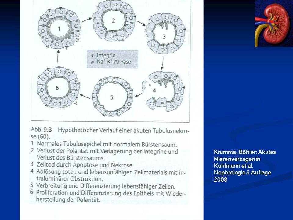 Krumme, Böhler: Akutes Nierenversagen in Kuhlmann et al. Nephrologie 5