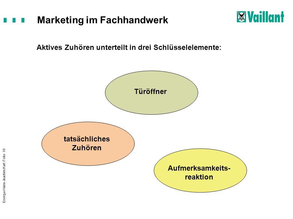 Aktives Zuhören unterteilt in drei Schlüsselelemente:
