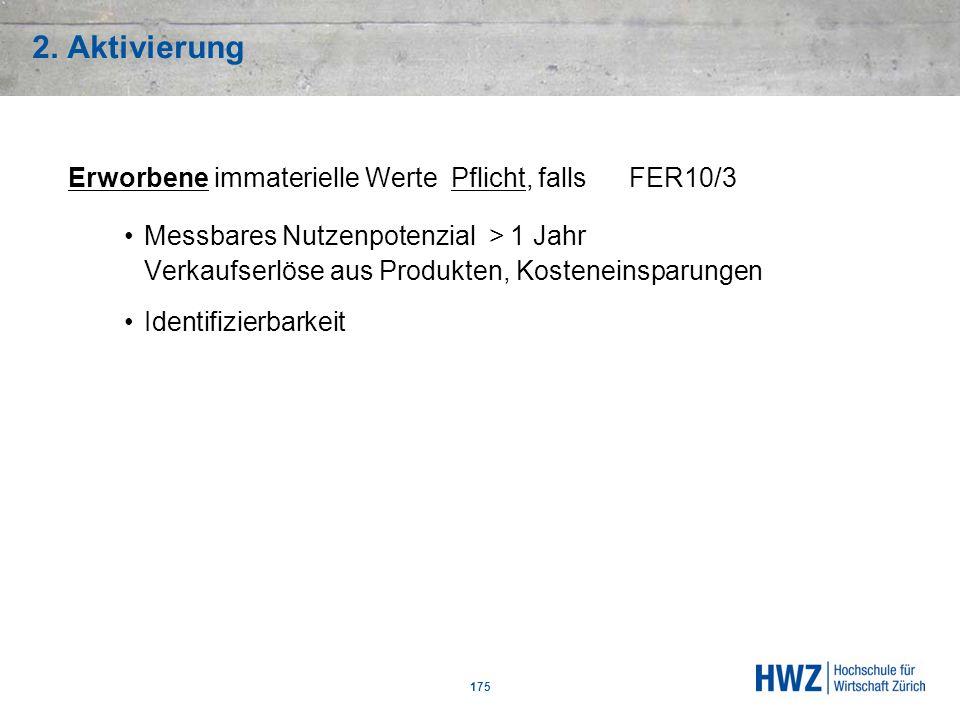 2. Aktivierung Erworbene immaterielle Werte Pflicht, falls FER10/3