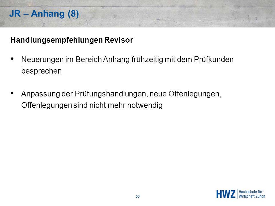 JR – Anhang (8) Handlungsempfehlungen Revisor