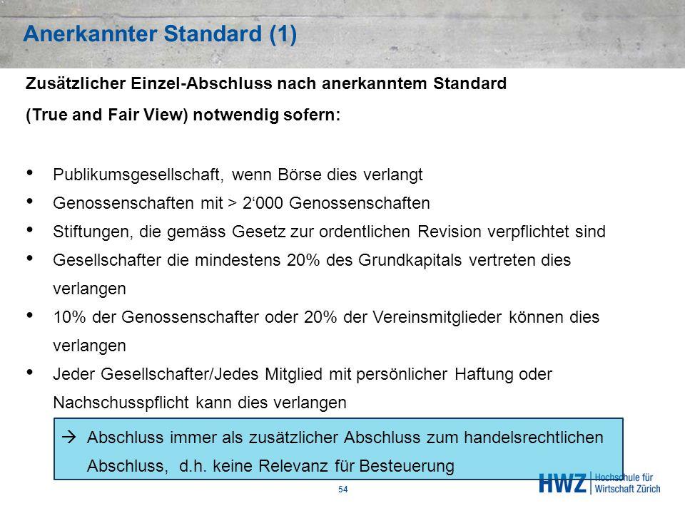 Anerkannter Standard (1)