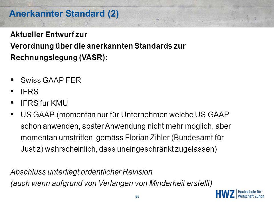 Anerkannter Standard (2)