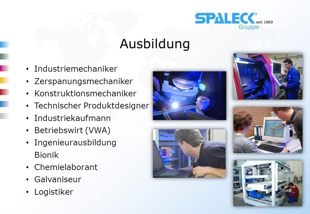 Ausbildung Industriemechaniker Zerspanungsmechaniker