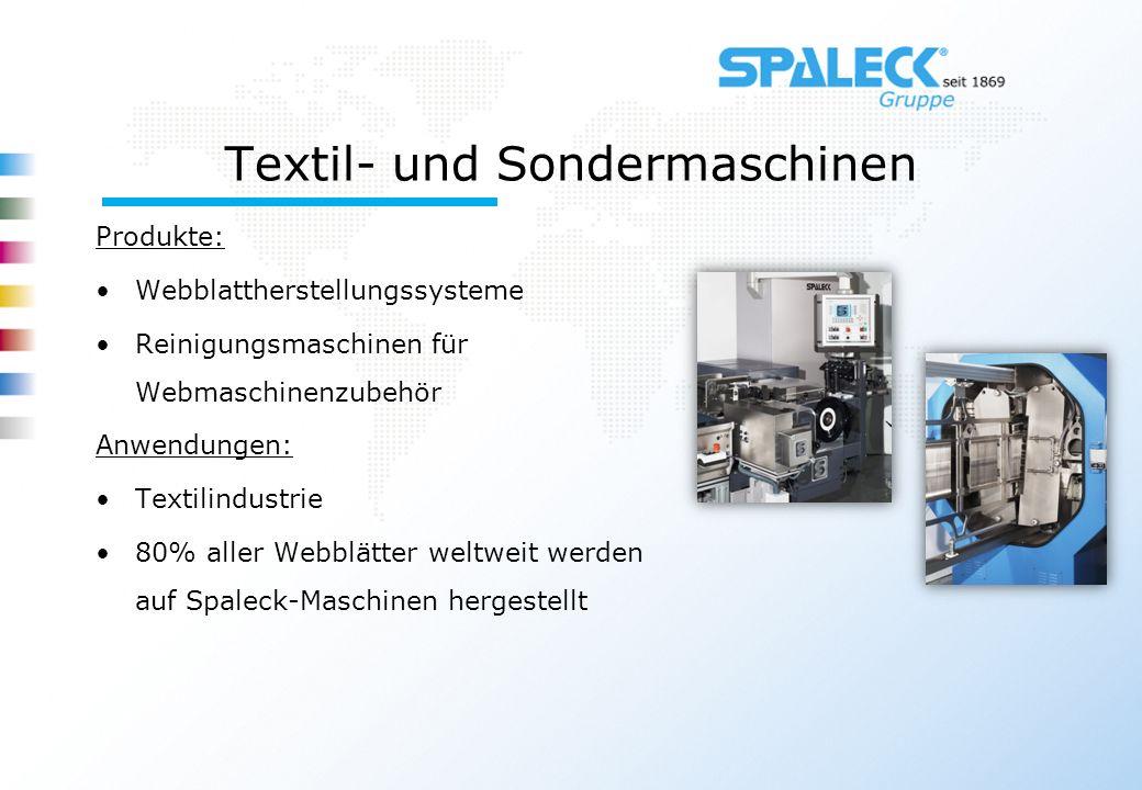 Textil- und Sondermaschinen