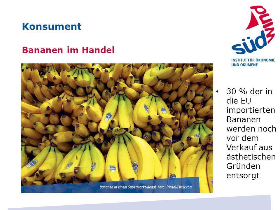 Konsument Bananen im Handel