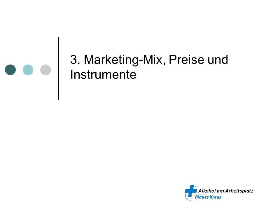 3. Marketing-Mix, Preise und Instrumente