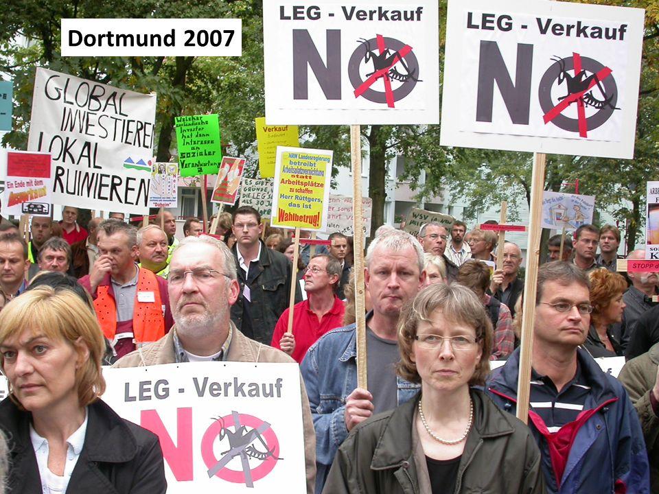 Proteste Dortmund 2007