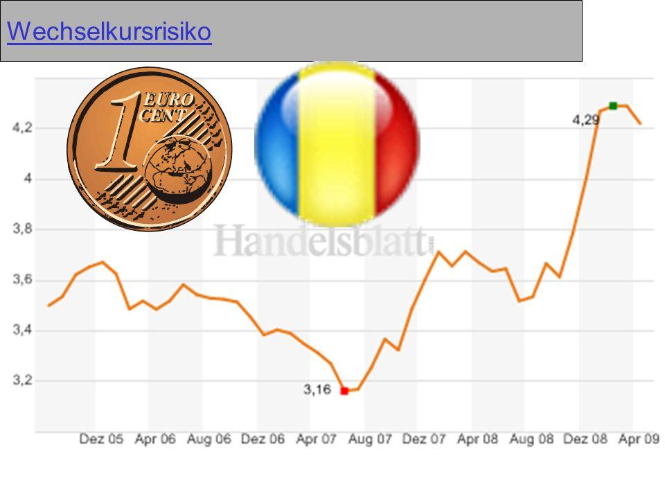 Wechselkursrisiko