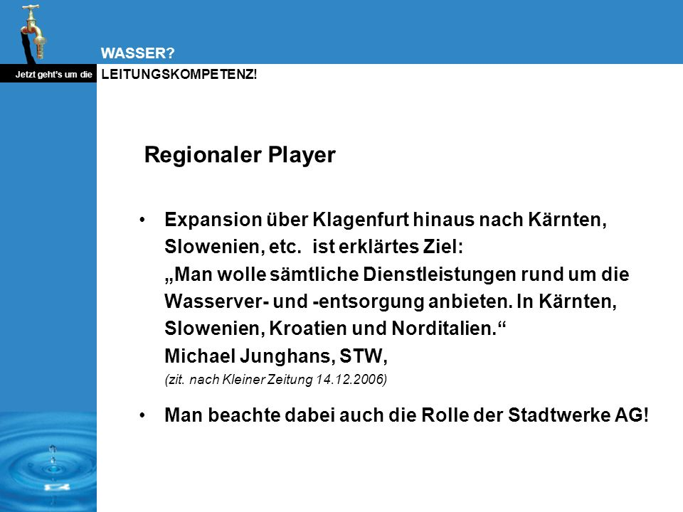 Regionaler Player