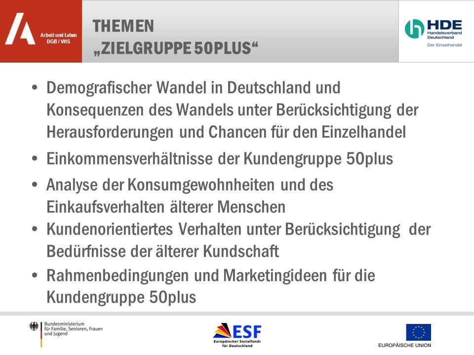 "Themen ""Zielgruppe 50plus"