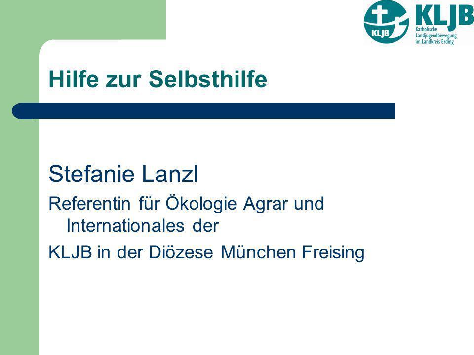 Hilfe zur Selbsthilfe Stefanie Lanzl
