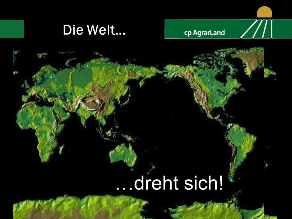 Die Welt… …dreht sich! 2008-2009 cp AgrarLand GmbH