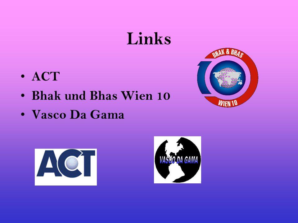 Links ACT Bhak und Bhas Wien 10 Vasco Da Gama