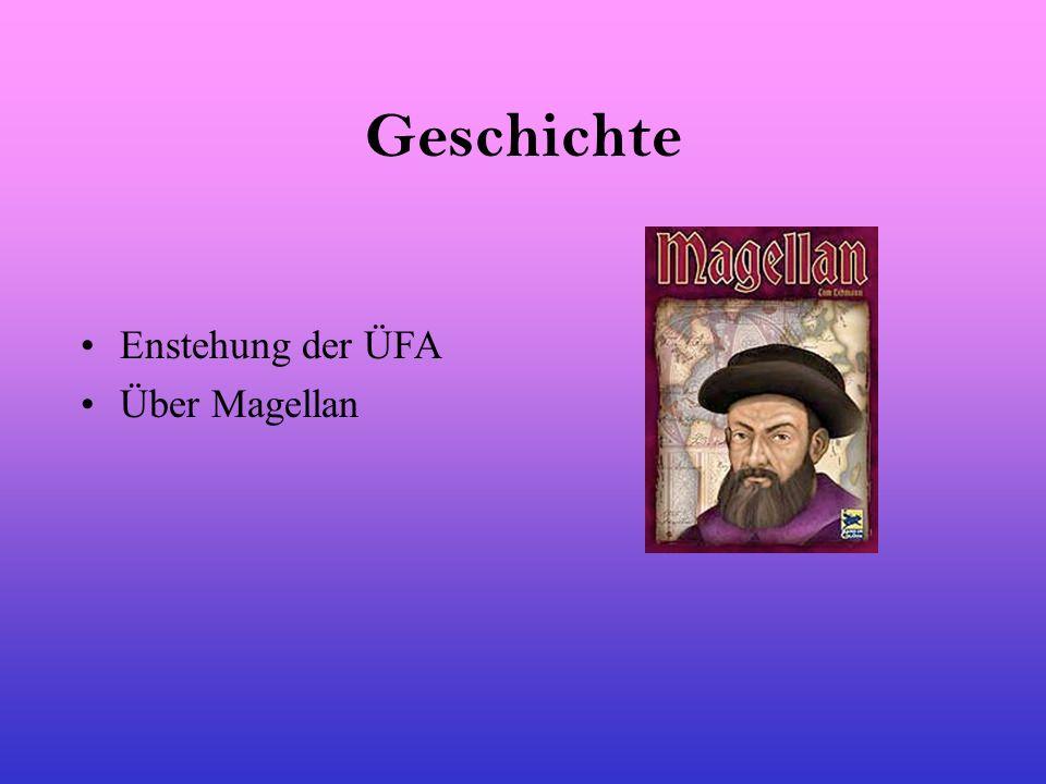 Geschichte Enstehung der ÜFA Über Magellan