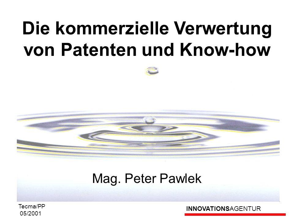 Die kommerzielle Verwertung von Patenten und Know-how