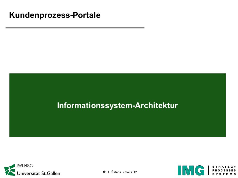 Kundenprozess-Portale