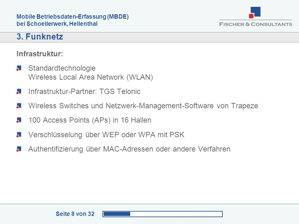 3. Funknetz Infrastruktur:
