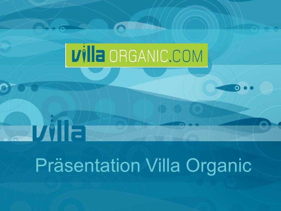 Präsentation Villa Organic