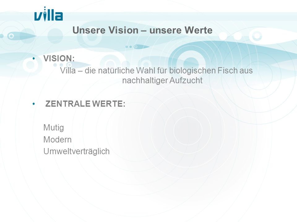 Unsere Vision – unsere Werte