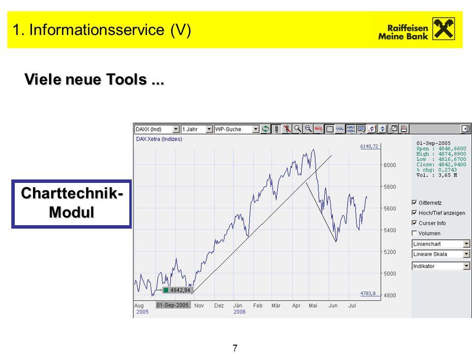 1. Informationsservice (V)