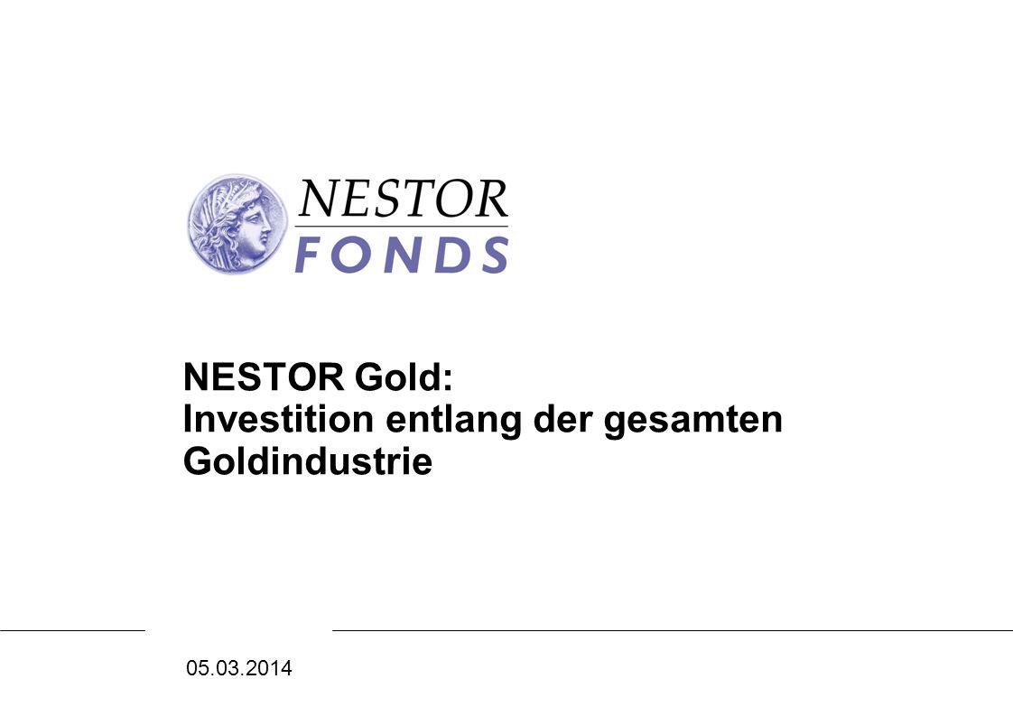 NESTOR Gold: Investition entlang der gesamten Goldindustrie