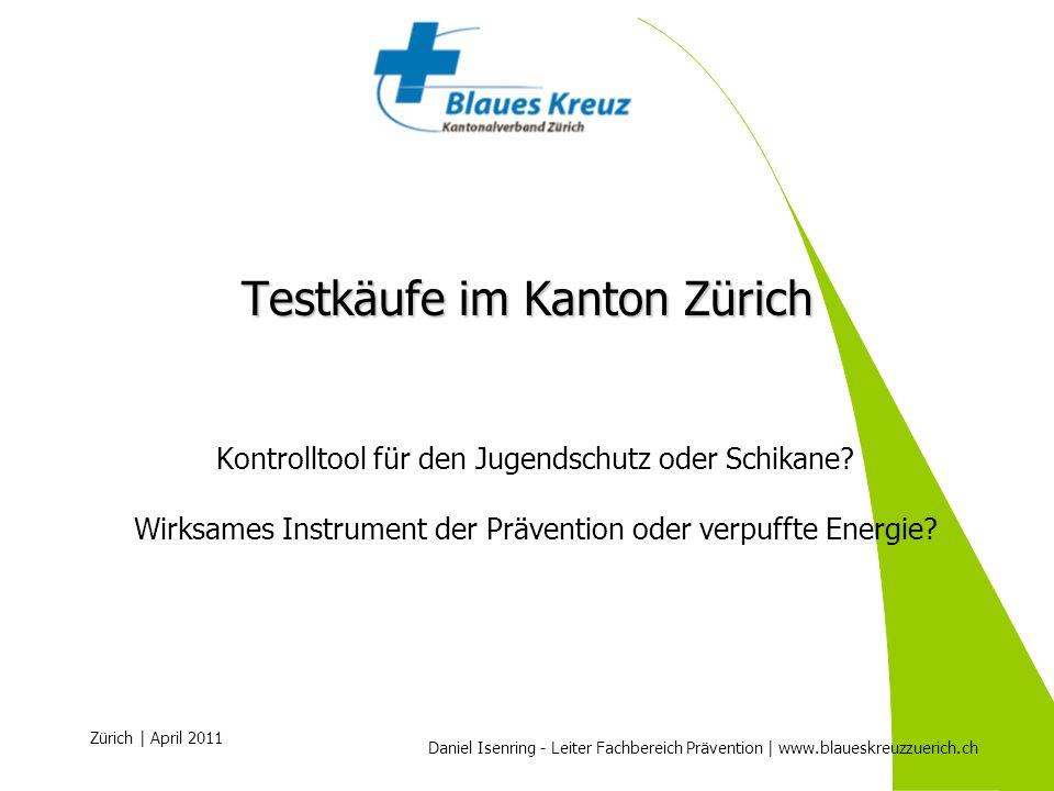 Testkäufe im Kanton Zürich