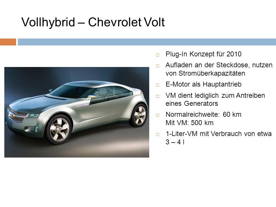 Vollhybrid – Chevrolet Volt