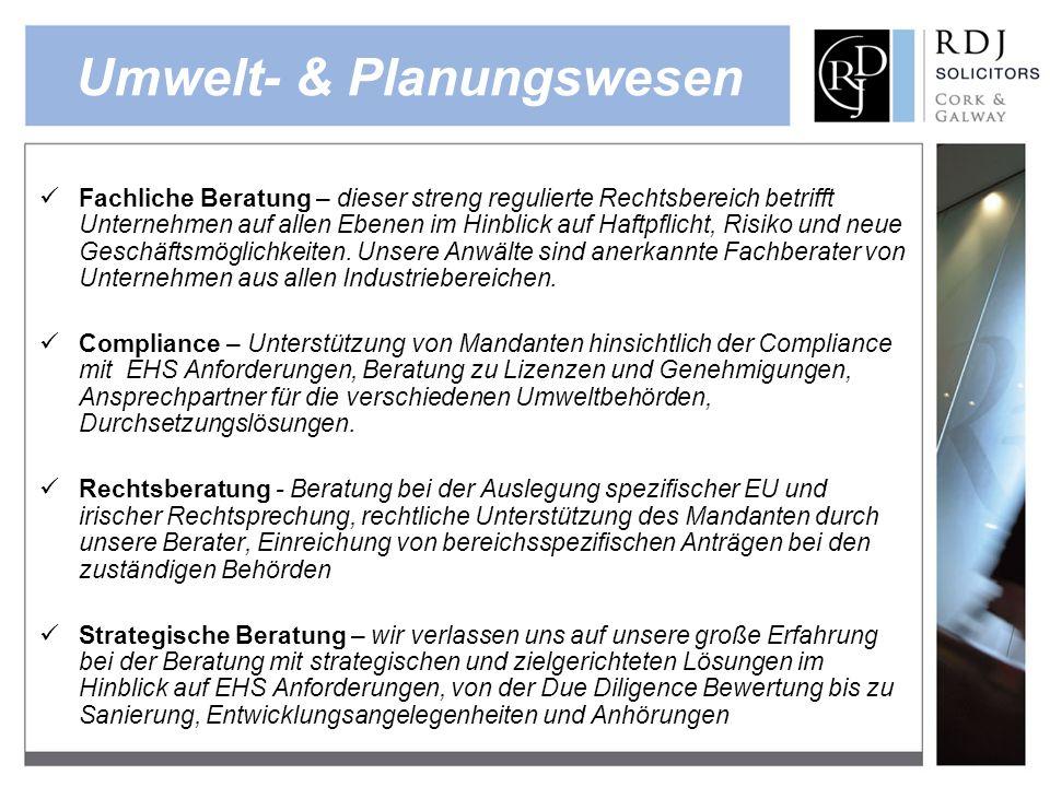 Umwelt- & Planungswesen