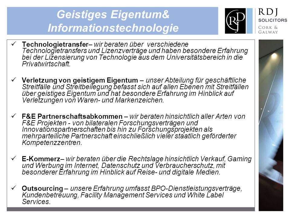 Geistiges Eigentum& Informationstechnologie