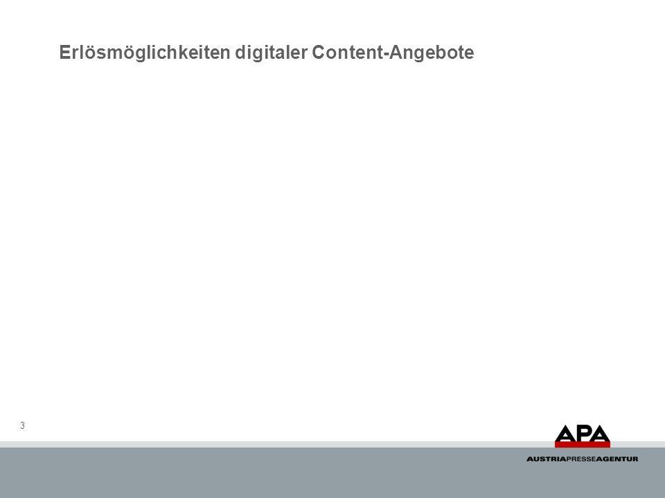 Erlösmöglichkeiten digitaler Content-Angebote