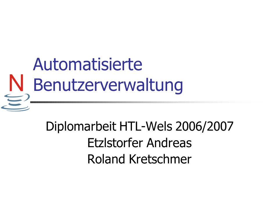 Automatisierte Benutzerverwaltung