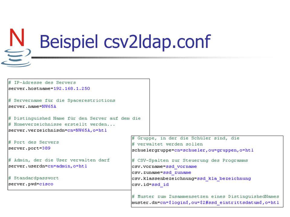 Beispiel csv2ldap.conf