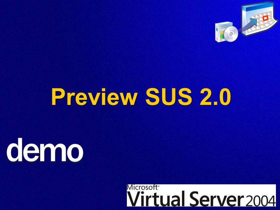Microsoft Sicherheitstechnologien Preview SUS 2.0
