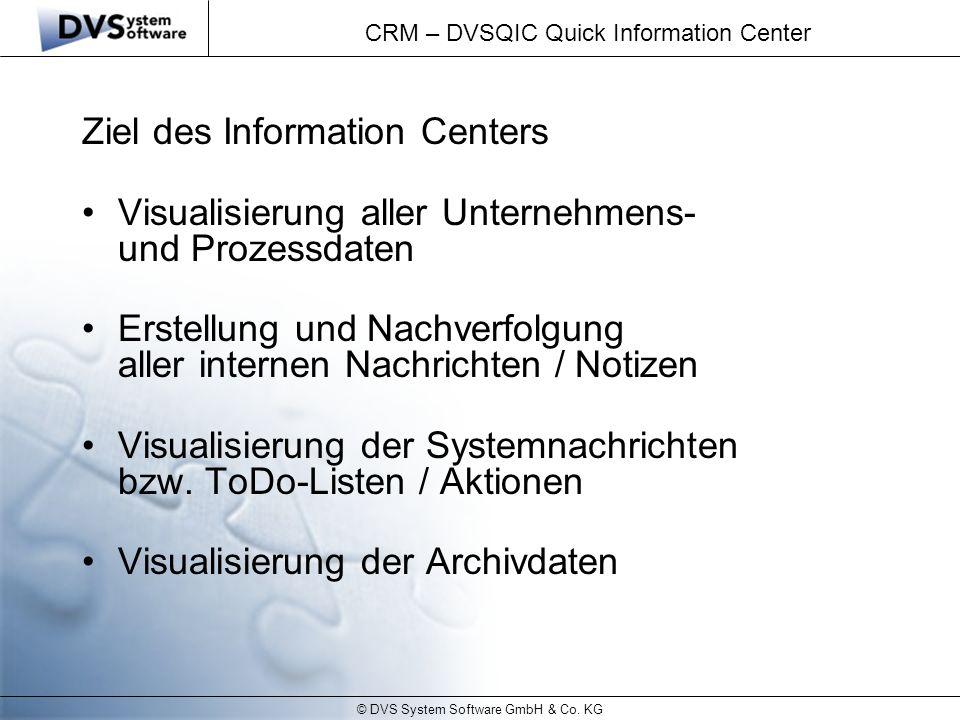 CRM – DVSQIC Quick Information Center