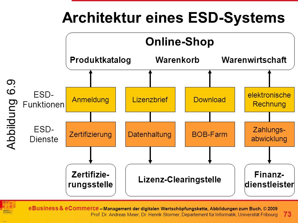 Architektur eines ESD-Systems