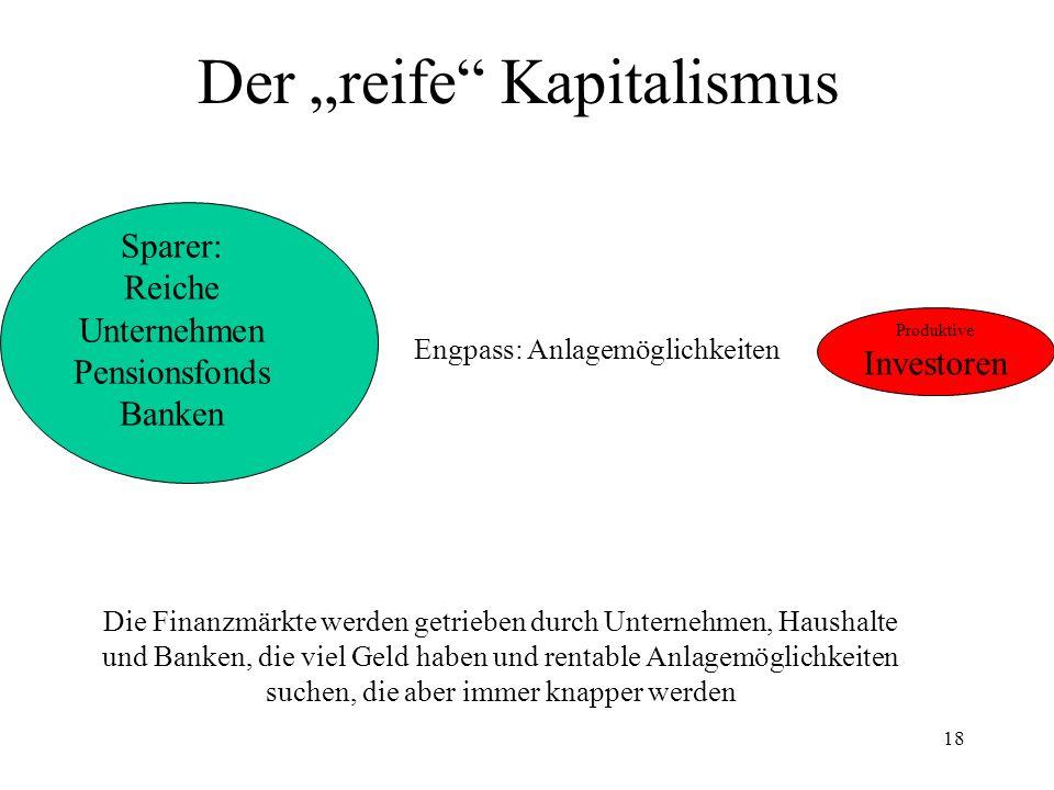 """Der """"reife Kapitalismus"""