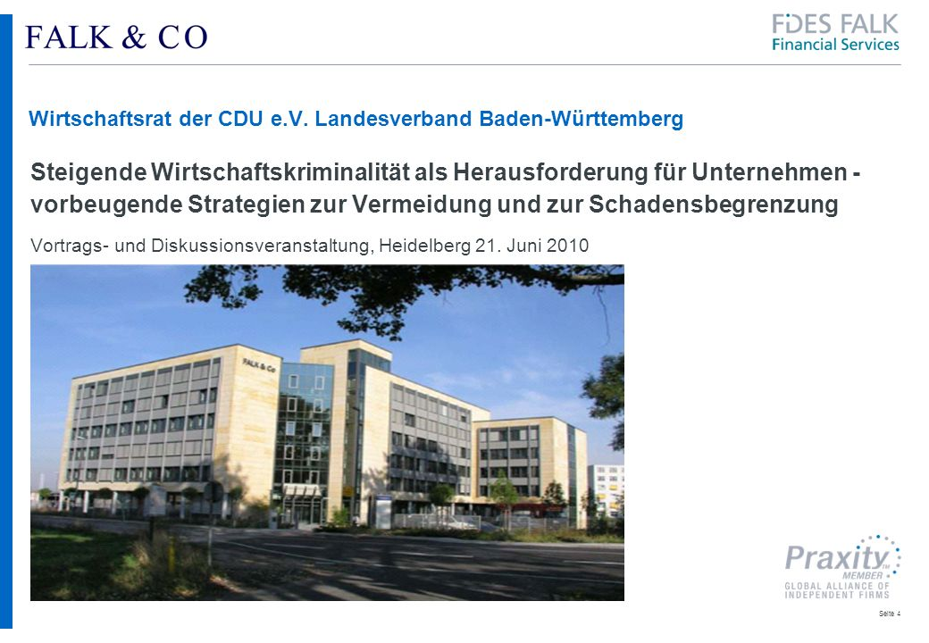 Wirtschaftsrat der CDU e.V. Landesverband Baden-Württemberg