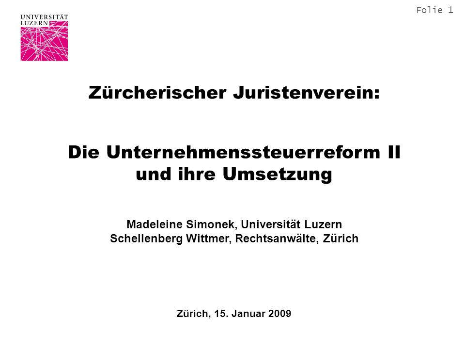 Zürcherischer Juristenverein: