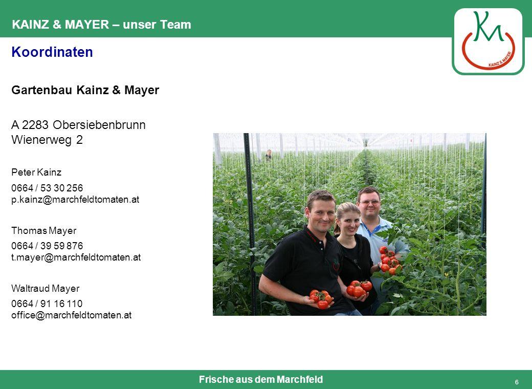 KAINZ & MAYER – unser Team