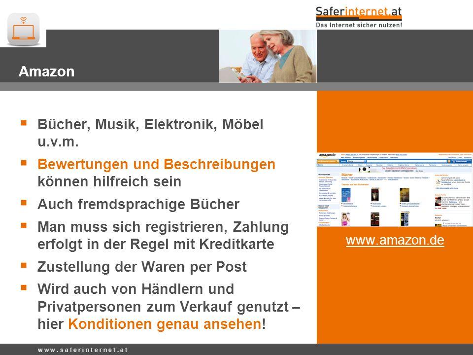 Bücher, Musik, Elektronik, Möbel u.v.m.