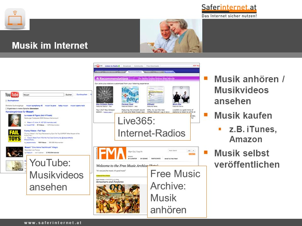 Live365: Internet-Radios